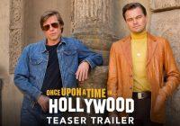 Брэд Питт и Леонардо Дикаприо в трейлере «Однажды в Голливуде»
