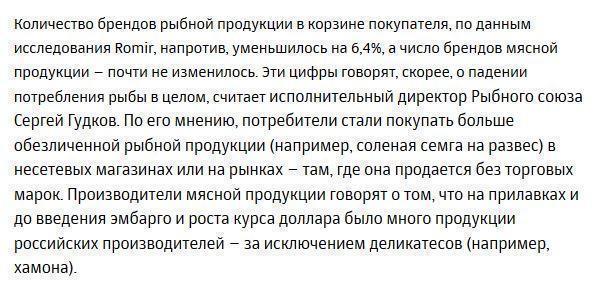 Россияне переключились на новые бренды из-за санкций и девальвации