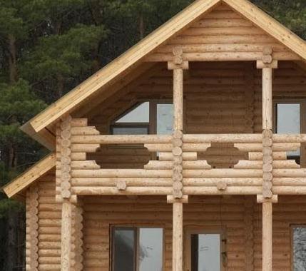 Преимущества строительства домов из бревен